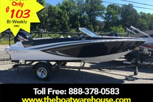 2018 GLASTRON GT 180 MERCURY 115HP TRAILER for sale