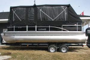 2017 LOWE SS210 MERCURY 115HP  TRAILER FULL ENCLOSURE TRI TOON for sale