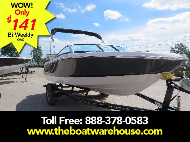 For Sale: 2018 Four Winns H180 Mercruiser 4.5l 200hp Trailer Bimini Top Extended Swim Platform 18ft<br/>The Boat Warehouse - Kingston