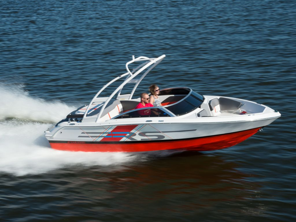 2018 Four Winns boat for sale, model of the boat is H180 RS Extended Swim Platform V6-200/SX & Image # 5 of 16
