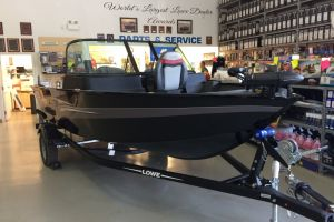 2018 LOWE FM165 PRO WT MERCURY 60HP TRAILER TROLLING MOTOR FISH FINDER for sale