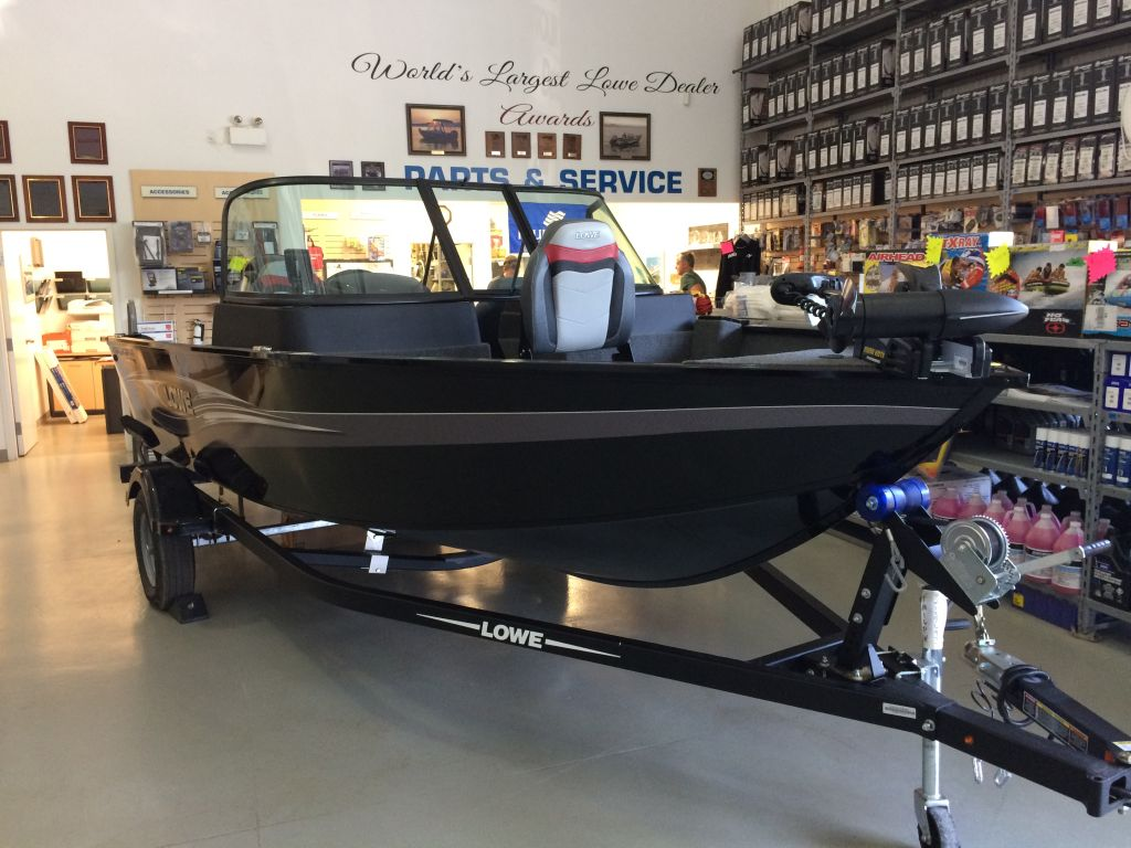 For Sale: 2018 Lowe Fm165 Pro Wt Mercury 60hp Trailer Trolling Motor Fish Finder 16.4ft<br/>The Boat Warehouse - Kingston