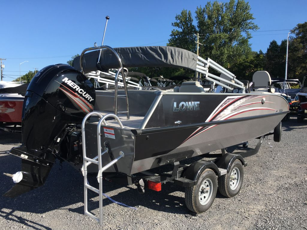 2017 Lowe boat for sale, model of the boat is SD 224 Mercury 150HP 4S & Image # 24 of 29