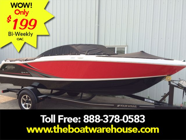 For Sale: 2017 Four Winns H190ss Mercruiser 250hp Trailer Ext Platform 19ft<br/>The Boat Warehouse - Kingston