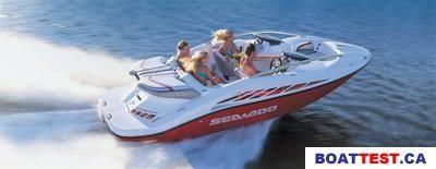 2004 Sea Doo Sportboat Sea-Doo Speedster 200 Boat Test