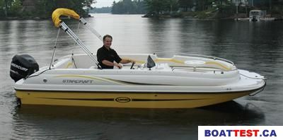 2008 Starcraft Limited 1915 OB Boat Test & Review 157   Boat