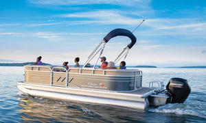 2020 Sun Tracker PARTY BARGE 20 DLX  Buyers Guide Photo