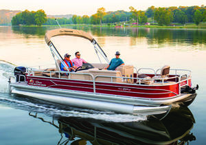 2019 Sun Tracker FISHIN BARGE 24 DLX