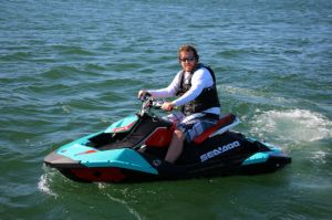 2017 Sea Doo PWC Spark Trixx Boat Test Photo