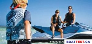 2009 Honda PWC AquaTrax F-15X GPScape