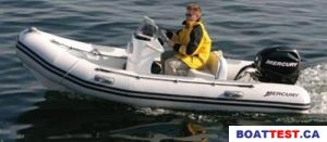 2009 Mercury Inflatables V-400 Boat Test Photo