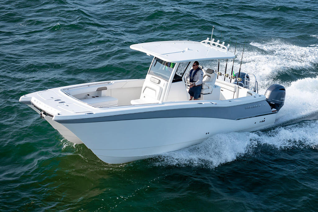2019 World Cat 280CC-X Center Console