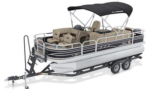 2020 Sun Tracker FISHIN BARGE 2O DLX  Buyers Guide Photo