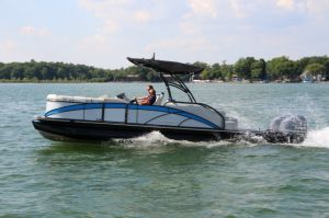 2017 Sylvan S5 Extreme Twin Boat Test Photo