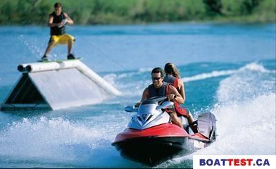 2004 Sea Doo PWC Sea-Doo GTX Wakeboard Edition Boat Test & Review