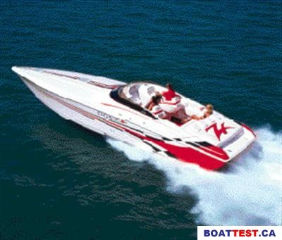 2005 Donzi Donzi 22 Classic Boat Test & Review 328   Boat Tests