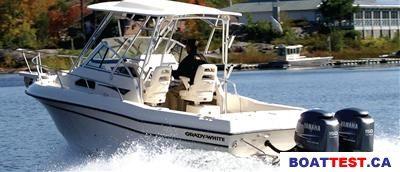 2009 Grady-White Tournament 205 Boat Test & Review 208