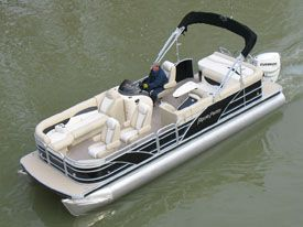 2011 aqua patio 240 aft deck boat test photo - Aqua Patio