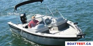 2008 Tracker Boats Targa 185 Sport Boat Test Photo