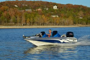 2017 Nitro Z17 Boat Test Photo