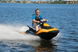 2015 Sea Doo PWC Spark 3UP Boat Test Photo