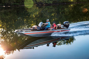 2018 Bass Tracker Heritage Boat Test Photo