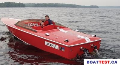 40 foot donzi boat