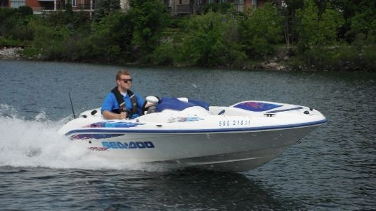 1997 Sea Doo Sportboat Sportster Boat Test & Review 965