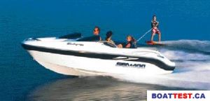 2001 Sea Doo Sportboat Challenger 1800