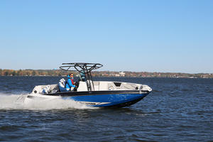 2018 Scarab 255 Open ID Boat Test Photo