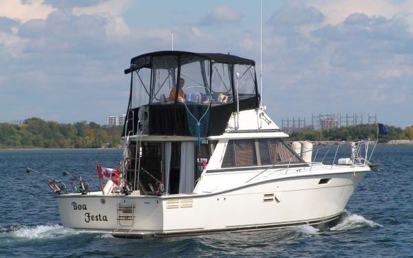 1987 trojan 36 convertible boat test review 632 boat tests. Black Bedroom Furniture Sets. Home Design Ideas