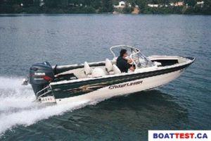 2001 Crestliner 1850 Sport Fish