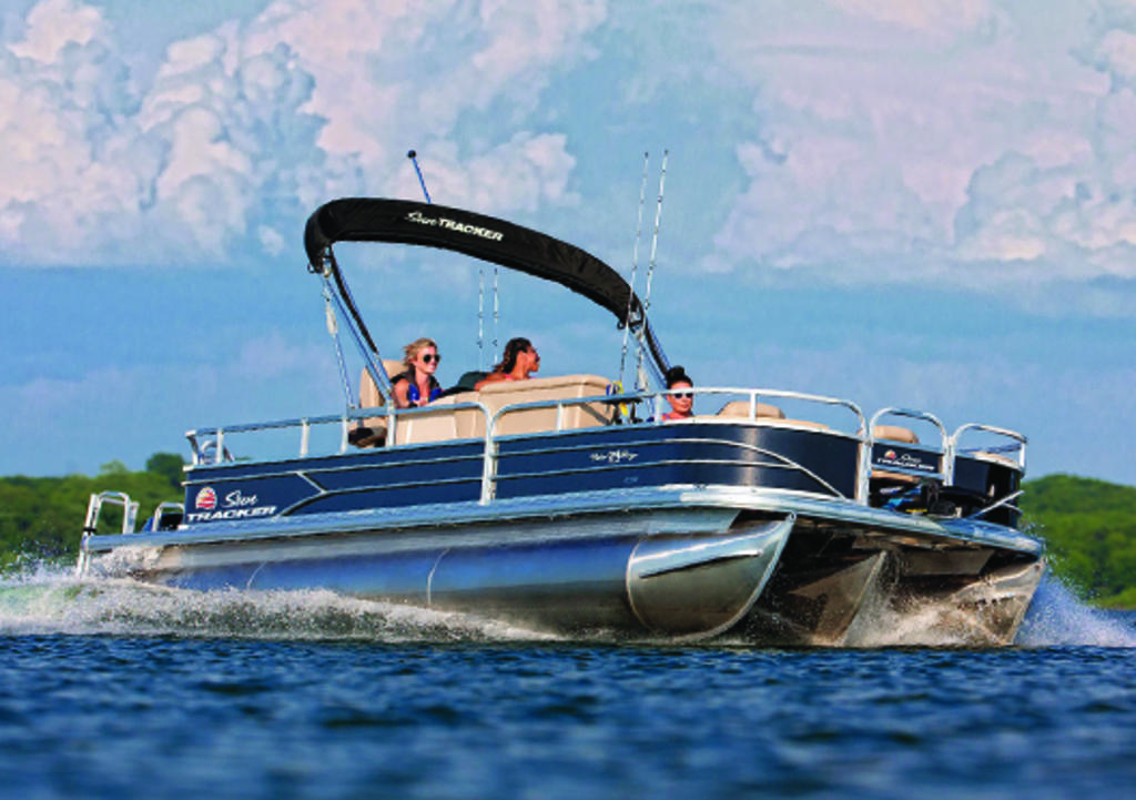 2019 Sun Tracker FISHIN BARGE 24 XP3