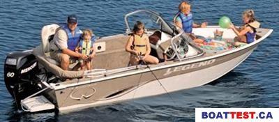 2009 Legend 16 Xcalibur Boat Test Review 215 Boat Tests