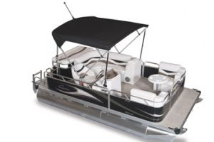 2011 Apex Pontoons QWEST ADVENTURE 7516 CRUISE DLX