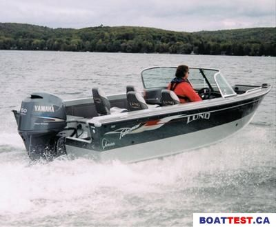2004 Lund Adventure Series 1800 Boat Test & Review 260