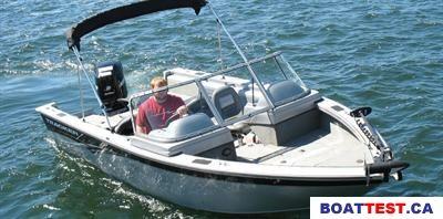 2008 Tracker Boats Targa 185 Sport Boat Test & Review 159