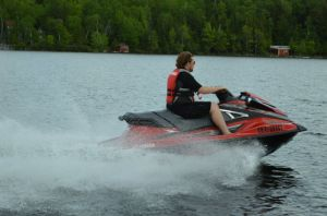 2016 Yamaha Waverunner VXR Boat Test Photo