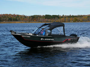 2018 Legend 20 XTR Troller Boat Test Photo