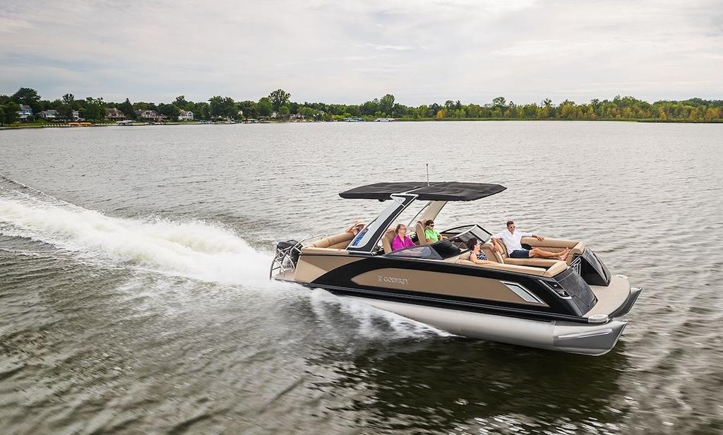 2020 Godfrey Pontoon LX2850 ULW