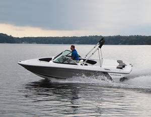 2018 Rinker 18QX BR Boat Test Photo