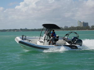 2018 Avon GT 670 Grand Tender Boat Test Photo