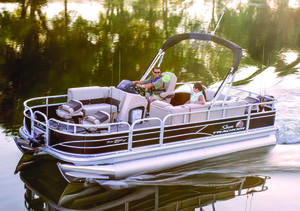 2019 Sun Tracker FISHIN BARGE 2O DLX