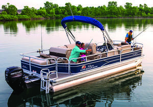 2019 Sun Tracker FISHIN BARGE 22 DLX
