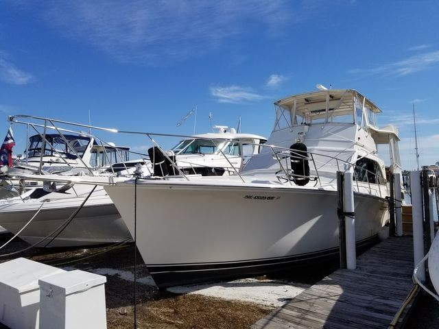 1986 Ocean Yachts boat for sale, model of the boat is 46 SUNLINER & Image # 1 of 60