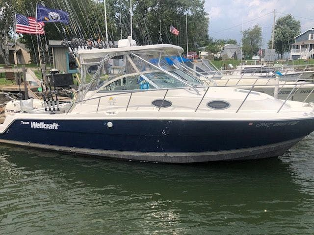2006 Wellcraft boat for sale, model of the boat is 290 COASTAL & Image # 1 of 27