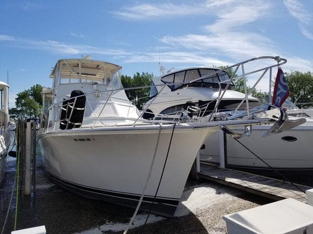 1986 Ocean Yachts boat for sale, model of the boat is 46 SUNLINER & Image # 2 of 60