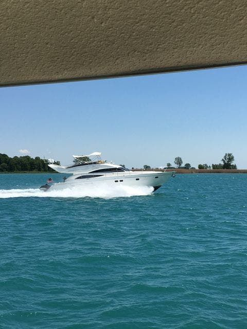 2006 Princess Yachts boat for sale, model of the boat is 61 FLYBRIDGE & Image # 1 of 70