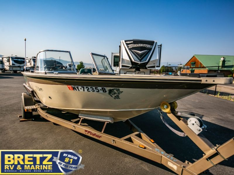2000 Fisher boat for sale, model of the boat is Avenger Sport 17 & Image # 12 of 21
