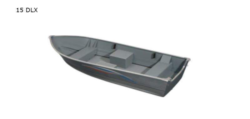 2021 Smoker Craft boat for sale, model of the boat is Alaskan 15 DLX & Image # 11 of 20